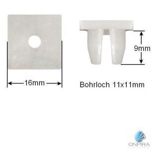 30x Clip Clips Clipse Kunststoff Spreizmutter Türverkleidung KFZ Universal 214