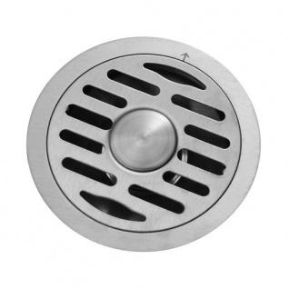 Ø 120mm Edelstahl Duschablauf Bodenablauf Duschrinne Geruchsverschluss Ablauf