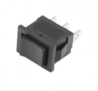 Wippschalter + Wipptaster / Schalter und Taster in einem 230V (6V 9V 12V 24V)