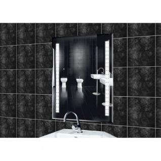 Wandspiegel mit Licht 50 x 70 cm modernes Design Badspiegel Flurspiegel (6)