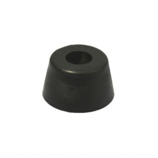 12x Gummifüße 32x18mm Gummifuß Edelstahleinlage Boxenfüße Gerätefüße Türstopper