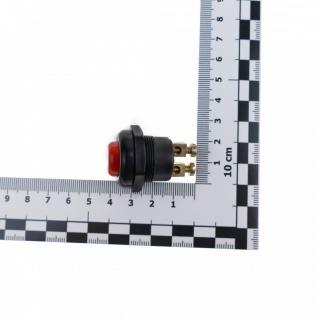 KFZ Drucktaster Rot 25A Druckknopf Taster Schalter Start Anlasser Hupe - Vorschau 3
