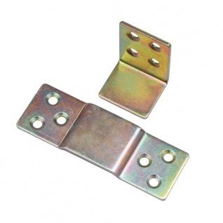 Steckverbinder Möbelverbinder Bettverbinder Couchverbinder Metallverbinder