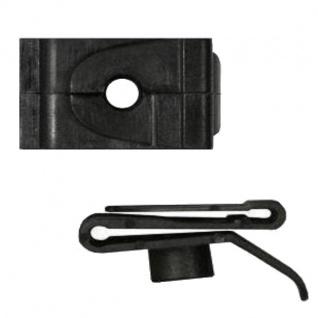 30x Clip Clips Clipse Kunststoff Spreizmutter Türverkleidung KFZ Universal 049