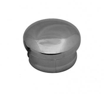 10 Chrom Rohrstopfen Lamellenstopfen Rohrkappen Endkappen Stopfen Rohrverschluss