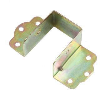 Balkenschuh Holzverbinder Balkenschuhe außenliegend Latte Holzbalken Verbinder