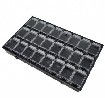 24er SMD Container Mäuseklo aneinandersteckbar Sortiment Box SMT 0603 0805 1206 - Vorschau 3
