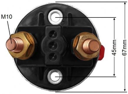KFZ Trennschalter Batterie Hauptschalter 500A 12V 24V Hauptstromschalter - Vorschau 2