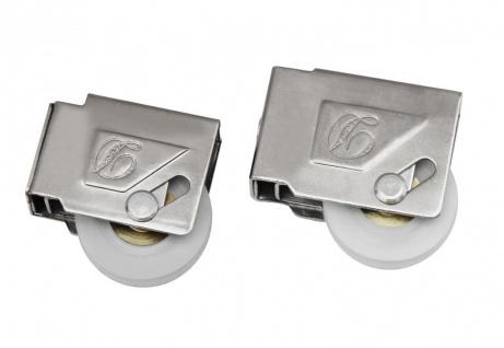 Aluminium Schiebetür Schiebefenster Laufrolle Rollwagen Schiebetürbeschlag 26-10