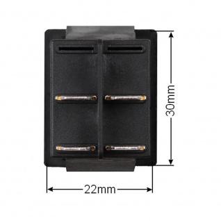 Wipptaster Ein- / Aus - Funktion 230V 2x EIN nicht einrastend (6V 9V 12V 24V) - Vorschau 3