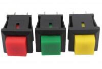 20x Mini Drucktaster Taster 1x EIN 11x13mm max. 125V 1A - Vorschau 2