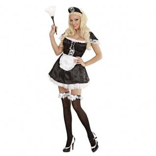 Kostüm Hausmädchen Gr. M Kleid Schürze und Haube - Widmann Fasching Karneval