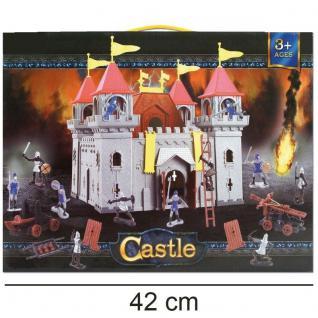 Ritterburg Schloss Royal Castle Kinder Spielzeug Burg mit viel Zubehör NEU