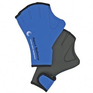 Aqua Sphere Aqua Swim Gloves Handpaddels Schwimm Handschuhe S-M-L