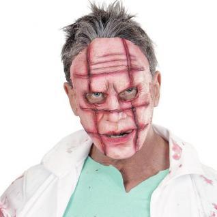 MASKE MIT NARBEN Mask Killer Halloween horror Crazy Scars Horror Party #'834