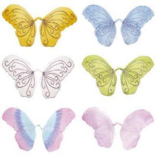 GLITZER FEENFLÜGEL XL FLÜGEL für Kostüm Elfe Fee Schmetterling #8216
