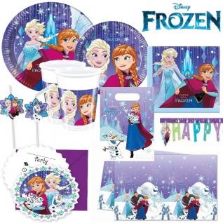 Disney Frozen Eiskönigin -Snowflakes - Alles zum Kindergeburtstag- Motto Party