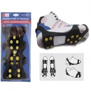 Schuhspikes Schuhkrallen Rutschschutz Gleitschutz Spikes für Schuhe Stiefel