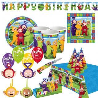 TELETUBBIES Riesen-Auswahl zum Kindergeburtstag - Geburtstag Kinder Party Deko