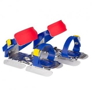 Nijdam Junior Verstellbare Gleitschuhe 24-34 Schlittschuhe Blau/Orange #3011kgr