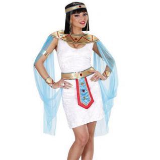 KOSTÜM CLEOPATRA - ÄGYPTISCHE KÖNIGIN 34/36 (S) Antike Pharao 7466