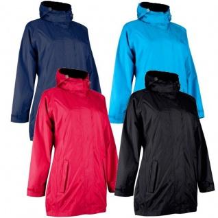 Damen Outdoor Regenmantel Windbreaker Jacke Windjacke Outwear Wasserdicht Mantel