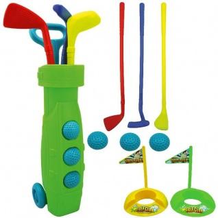 13tlg. Kinder Golf-Set Kunststoff Erstausrüstung Garten Spielzeug Minigolf
