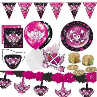 PIRATEN GIRL Party Mädchen pirate girl Kinder Geburtstag Deko Motto Party
