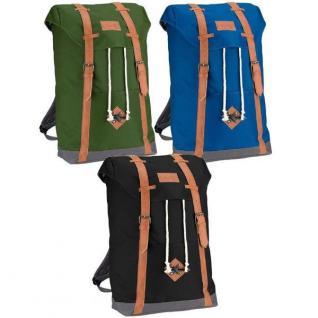 VINTAGE Look Rucksack Schulrucksack City Freizeit Tasche Backpack Herren Damen