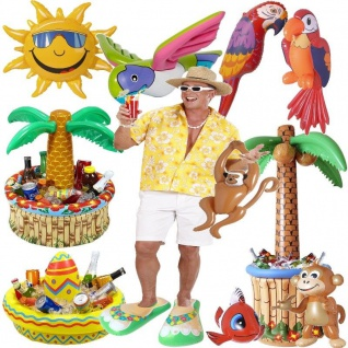 TOP aufblasbare Party Deko Hawaii Strandparty Sommer Fest Motto Party Strand