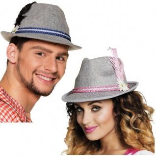 Tiroler Hut, Trachten Hut, Bayern Hut für Damen und Herren - Kostüm Oktoberfest