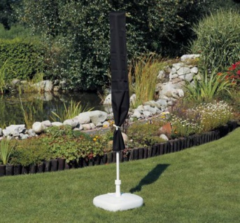 Schutzhülle für Sonnenschirm 450 cm Marktschirm Gartenschirm Schirm Sonnenschutz