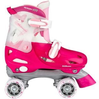 Kinder Rollschuhe Größen verstellbar 27 - 37 Pink Junior Girls Mädchen Skates