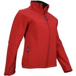Damen Softshell Jacke Rot Töne wasserdicht bis 5000 mm Wassersäule