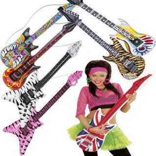 Aufblasbare Luftgitarren 105cm Luftgitarre Luft Gitarre Air Musikinstrumente