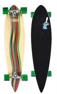 "Pintail Longboard 39"" Nijdam Skateboard das perfekte Board zum Cruisen"