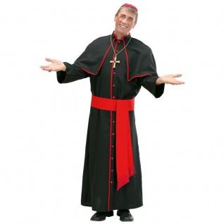 Kardinal Geistlicher Bischof Herren Kostüm Karneval Fasching Verkleidung Pfarrer