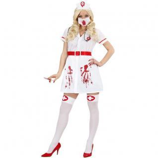 Blutige Krankenschwester 46/48 (XL) Halloween Damen Kostüm Bloody Nurse