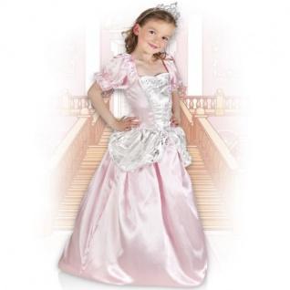 Elegantes Prinzessin Kleid 128/134 (7-9) Rosabel Mädchen Kostüm Prinzessinkleid