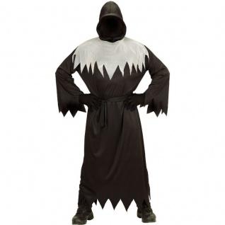 Sensenmann Grim Reaper Ghoul Tod Kinder Kostüm Halloween Robe mit Kapuze & Maske