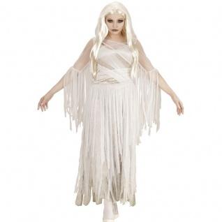 Damen Kostüm SPUKENDE SCHÖNHEIT S 34/36 Ghostly Spirit Geisterkostüm Kleid 4051