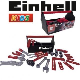 Einhell Werkzeugbox 31tlg Spielwerkzeug Kinder Werkzeug Spielzeug Werkzeugkiste