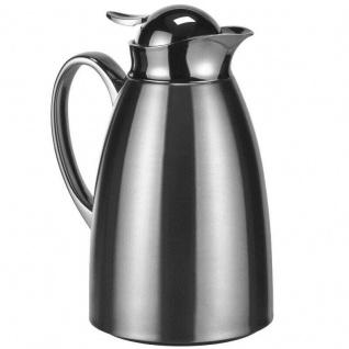 Isolierkanne 1L Thermo Kanne Edelstahl Isolierflasche Kaffeekanne Tee Flasche