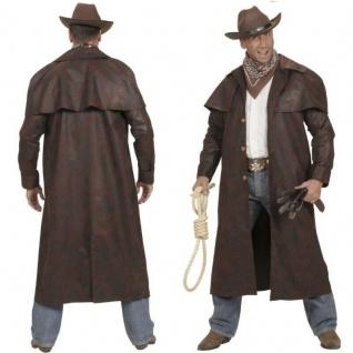 L Weste mit Hemd Chaps Bill Cowboy Herren Western Kostüm Gr 52 Hut #592