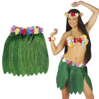 Bananenblätterrock Hawaii Party Rock Bananen Südsee Aloha Kostüm Karneval Fasch