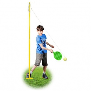 Twistballset Spiel für Kinder 2 Twistball-Schläger Tennisball - Best Sporting