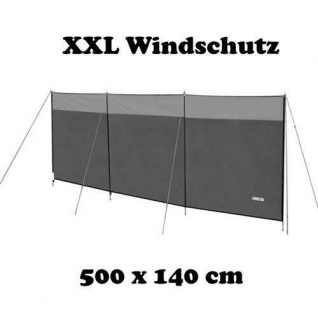 Windbreaker Sichtschutz Windschutz Camping Paravent NEU 500 x 140 cm