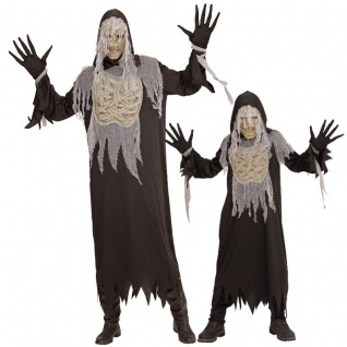 MUMIE Monster Horror PARTNER Kostüm Erwachsene Kinder Jugendliche Halloween