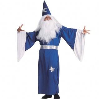 ZAUBERER MAGIER 52/54 (L) Erwachsenen Kostüm Karneval Halloween #5103