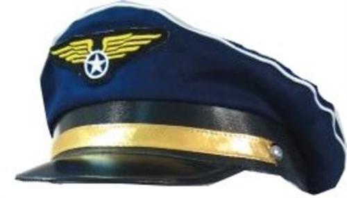 Pilotenmütze Uniform Mütze Karneval Fasching Pilot (1253)